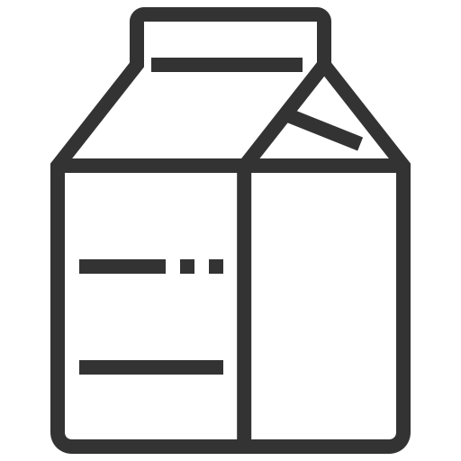 beverage, box, drink, milk icon