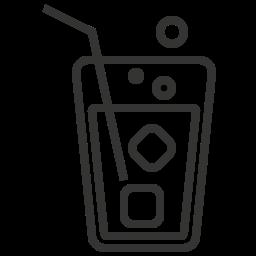 beverage, glass, juice, soda icon