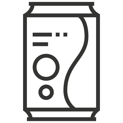 beverage, can, drink, soda icon