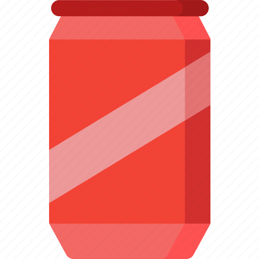 beverage, can, coke, drink, food, restaurant icon