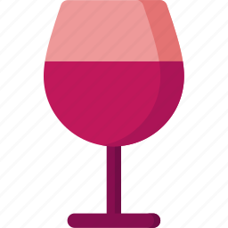 alcohol, beverage, drink, food, glass, wine icon
