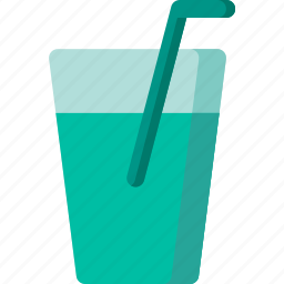 beverage, cup, drink, glass, juice, soft, water icon