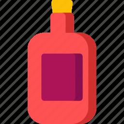 alcohol, beverage, bottle, drink, juice, kitchen, wine icon