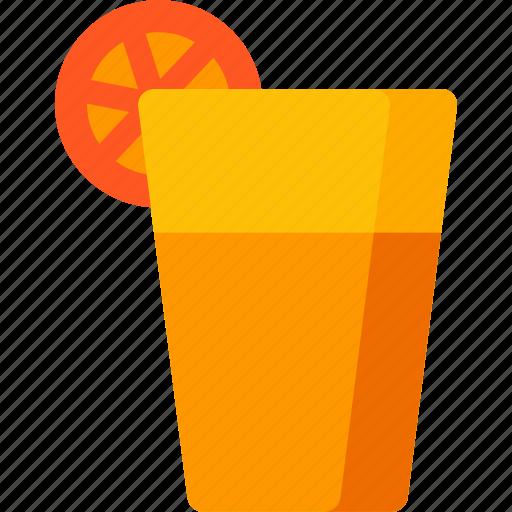 beverage, drink, fruit, glass, healthy, juice, orange icon