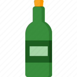 alcohol, beverage, bottle, cocktail, drink, wine icon
