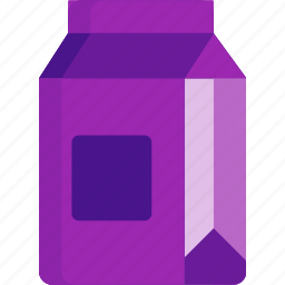 beverage, drink, food, fruit, juice, pack icon