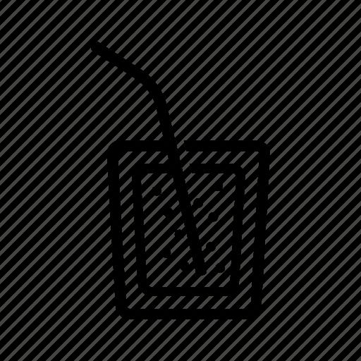 beverage, glass, juice, soda icon icon