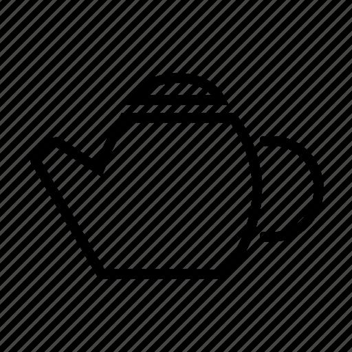drink, tea, teapot, water icon icon