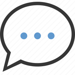 bubble, chat, comment, message, review, talk icon
