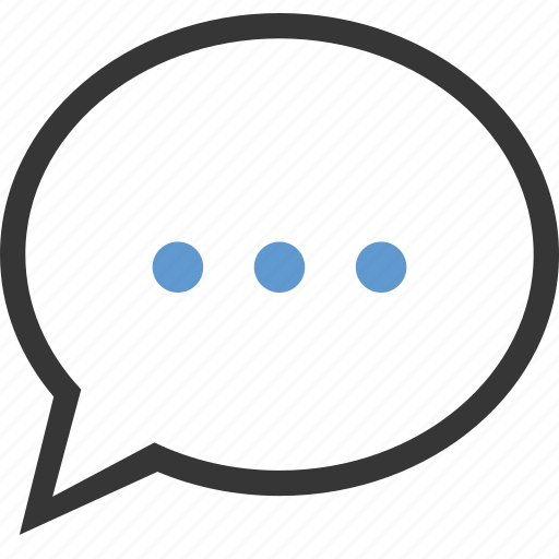 bubble, chat, comment, message, review, talk icon