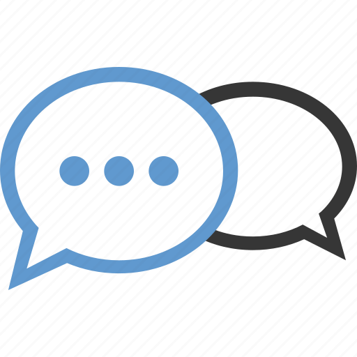 bubbles, chat, conversation, more, talk, wait icon