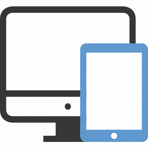device, display, ipad, monitor, phone, responsive, screen, smart, tablet icon