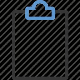 clipboard, editor icon