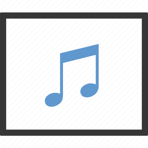 editor, music, note, song icon