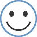 emoticon, face, smile icon