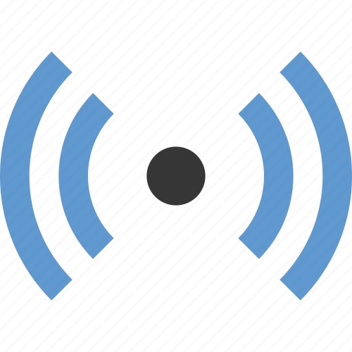 bluetooth, telecommunication, wave icon