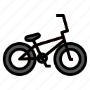 bicycle, bike, bmx, extreme, motocross icon