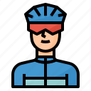 bicycle, bike, cyclist, ride, rider icon