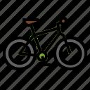 bicycle, bike, cycling, hybrid, riding