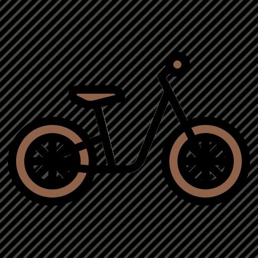 bicycle, bike, kid, ride, riding icon