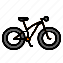 bicycle, bike, mountain, ride, riding icon