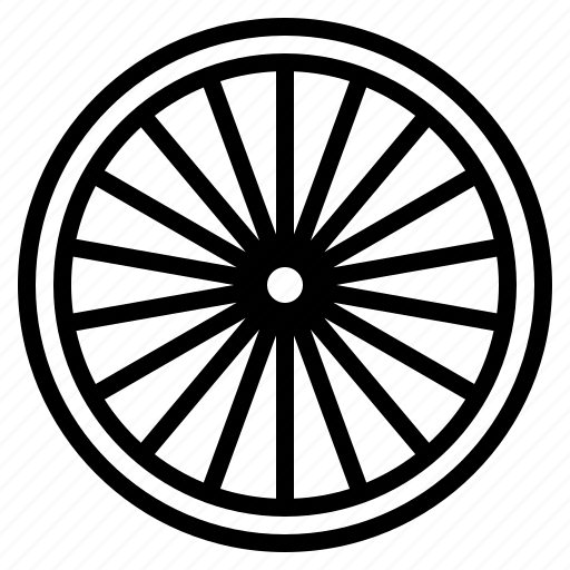 bicycle, part, riding, tire, wheel icon