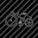 bicycle, classic, tandem, vintage