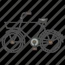 basket, bicycle, classic, vintage