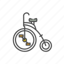 bicycle, classic, unicycle