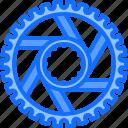bicycle, bike, brake, cyclist, gear, tournament icon