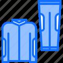 bicycle, bike, cyclist, pants, shirt, tournament, uniform icon