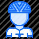 bicycle, bike, cyclist, man, tournament icon