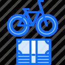 bicycle, bike, cyclist, money, purchase, tournament icon