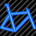 bicycle, bike, cyclist, frame, tournament icon