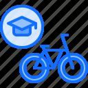 bicycle, bike, cyclist, riding, tournament, training icon