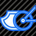 bicycle, bike, brake, cyclist, fire, speed, tournament icon