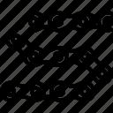 bicycle, bike, chain, cyclist, tournament icon