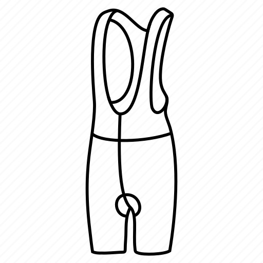 apparel, bibshort, bicycle, bike, clothing, short icon