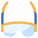 accesory, cyclist, eyes, glasses, protection, sport, summer icon