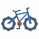 bicycle, bike, cycling, exercise, mountain, sports, vehicle icon