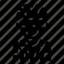 avatar, biker, cyclist, man, person, player, sport icon