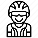 avatar, bicycle, bike, biker, man, player, sport