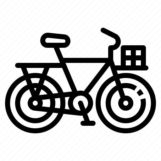 bicycle, bike, transportation, utility, vehicle icon
