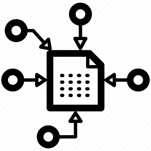 Data Acquisition Icom : Captures collection data recopilation sources icon