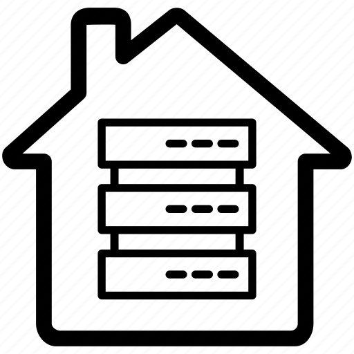 data, information, place, store, warehouse icon