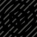 big, data, refresh icon