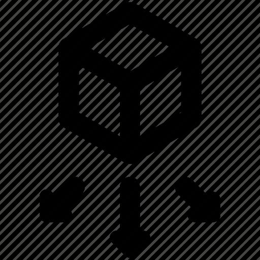 big, data, sharing icon