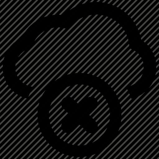 Cloud, error, warning icon - Download on Iconfinder