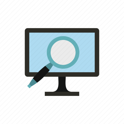 computer, data, finding, information, internet, search, technology icon