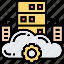 mainframe, cloud, source, data, server